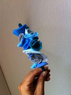 Blue moon flowers.