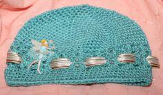 Turquoise Fairy Hat