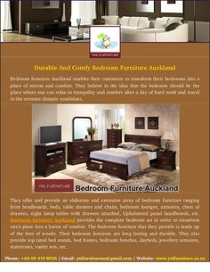 Are you looking for attractive bedroom furniture? This is a perfect place to get quality bedroom furniture Auckland at very cheap cost. Here you can find latest designed and patterns furniture for your home. Visit us today to know more about Bedroom Furniture Auckland.