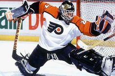 Today in Sports History: April 11th, 1989: 1st playoff goal scored by a Goalie. Ron Hextall.