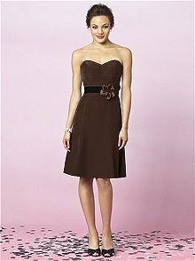 After Six 6634xx #brown #bridesmaid #dress