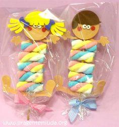 Souvenir con marshmallow per la festa dei bambini - Suggerimenti per la mamma