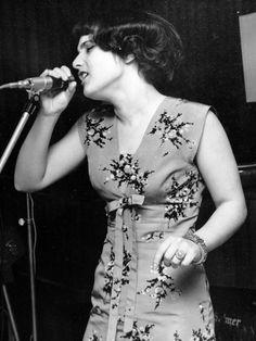 Wittek Mari, az Omega együttes énekesnője.