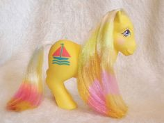 My Little Pony Vintage European Exclusive Daddy Sunbright