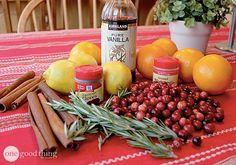 Simmering Potpourri christmas scent