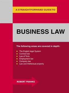 A comprehensive introduction to the law as it affects the business environment. The areas that affect business specifically are the English Legal system generally, contract law, employment law and company law. Also important is the law of intellectual property.