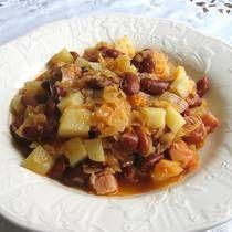 Slovenian Bean and Sauerkraut Hotpot or Jota