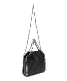 Stella McCartney Mini Black Falabella Cross Body Bag | Accessories | Liberty.co.uk