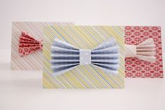 Father's Day Card - Bow Tie
