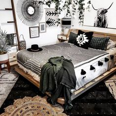 Awesome modern bedroom designs are available on our website. Have a look and you wont be sorry you did. Room Ideas Bedroom, Bedroom Decor, Western Rooms, Modern Bedroom Design, Bedroom Designs, My New Room, Apartment Living, Decoration, Home Decor