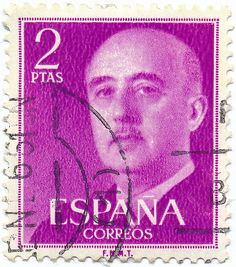 1956 Spanish Stamp -Francisco Franco Bahamonde ( 1892 – 1975) was a Spanish general and the dictator of Spain from 1939 until his death in 1975.