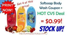 HOT CVS DEAL! You are going to love this! Print a new Softsoap Body Wash coupon to snag bottles for $0.99 each at CVS! It would be a great time to stock up! You can grab 4 bottles at this price!  Click the link below to get all of the details ► http://www.thecouponingcouple.com/softsoap-body-wash-coupon/ #Coupons #Couponing #CouponCommunity  Visit us at http://www.thecouponingcouple.com for more great posts!