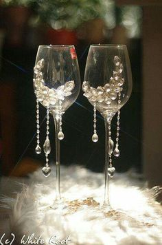 pahare personalizate handmade pentru miri si nasi | pahare nunta