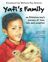Yafi's Family by Linda Pettit - the story of an Ethiopian boy and his journey from his place of birth to a new home. Sensitive and thoughtful on many levels.