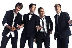 The dapper boys of Big Time Rush