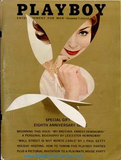 Vintage Playboy Cover December 1961