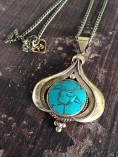 tibetan godess necklace