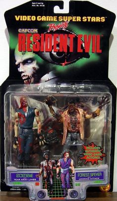 Horror Merch, Gaming Merch, Retro Toys, Ghostbusters, Resident Evil, Horror Movies, Video Game, Action Figures, Childhood
