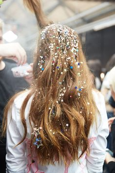 For the love of glitter. @thecoveteur