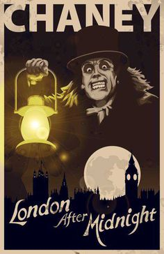 London after Midnight (1927) USA MGM Horror D: Tod Browning. Lon Chaney Snr. No copies exist.