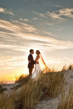 Sunset beach wedding photography [ Waterbabiesbikini.com ] #wedding #bikini #elegance