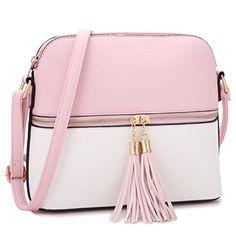80ee21f1d617 DASEIN Lightweight Medium Crossbody Bag Handbag with Tass... https   www