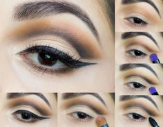 Tutorial de Maquiagem: Soft Cut Crease Eyes and Wine Lips - Autumn Makeup look