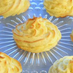 Savoury Table: The Unofficial Downton Abbey Cookbook, Giveaway and Recipe: Duchess Potatoes