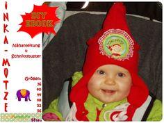 Nähanleitungen Kind - Inka-Mütze, Mütze, Ebook, Nähanleitung - ein Designerstück von MummelitoDIY bei DaWanda