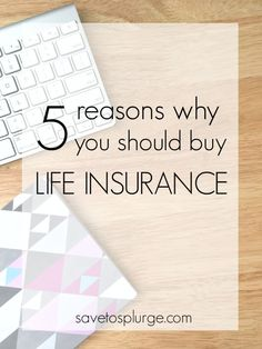 This isn't a fun topic, but it is definitely a necessary one. The good news is that term life insurance (not WHOLE life!) isn't as complicated as you might think. Not convinced? Here are 5 reasons why you should buy life insurance!