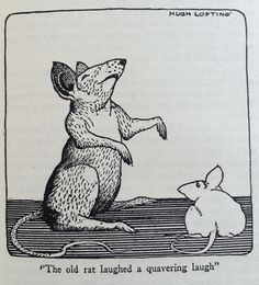 Hugh Lofting's Illustration from Dr Dolittle.