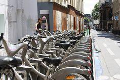 Paris Vélib by LostNCheeseland, via Flickr