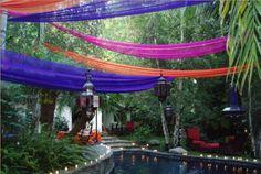 outdoor moroccan wedding ideas | Moroccan wedding | operation colour