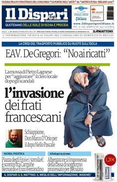 La copertina del 18 ottobre 2016  #ischia  #ildispari