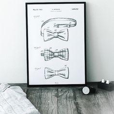 Bow Tie Print by Bomedo – Made Modern