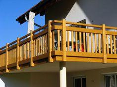 holzbalkon groß | Balkone / Geländer