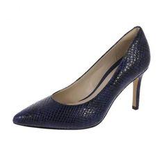 Clarks Dinah Keer Shoes Dark Blue