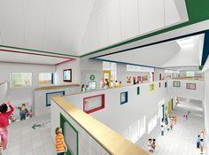 Gallery - SOM breaks ground on New York's First Net Zero Energy School - 11