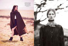 Iris Van Berne for Harper's Bazaar UK September 2013 by Tom Allen | The Fashionography
