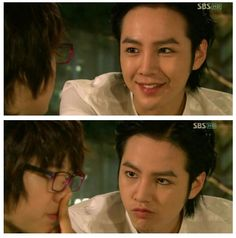 Too Cute! Jang Guen Suk and Park Shin Hye in You're Beautiful