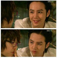 Too Cute! Jang Guen Suk and Park Shin Hye in You're Beautiful