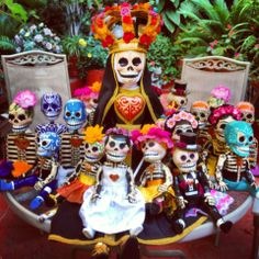 #catrinas #calaveras #mexico #diademuertos #artesania