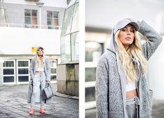 PHOTOS BY INGRID ANDERSSON // CREDIT&ADLINKS _SWEATPANTS FROM CRIMINAL DAMAGE, HERE_TOP FROM RIVER ISLAND_ _SNEAKERS FROM NIKE_BAG FROM YSL_SNAPBACK FROM NEW ERA, HERE_ _JACKET FROM GINA TRICOT_HOOD