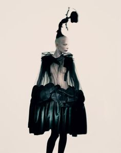 by Paolo Roversi - Comme Des Garcons s/s 2014