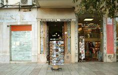 Tabacaria Monaco, aan de Rossio, stadsdeel Baixa, Lisboa
