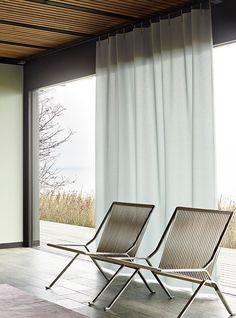 rideaux-voilage-gris- chaise-design-scandinave-pret-a-poser - Le Blog déco de MLC -