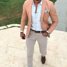 look_certo_blazer_salmao_jeans_light_gray