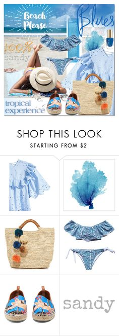 """""""Untitled #1937"""" by elena-777s ❤ liked on Polyvore featuring Kayu, Loewe, beach, 2017, beachholiday and springsummer2017"""