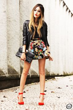 girly and edgy at the same time