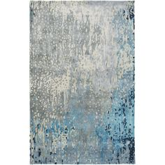 SRD-2004 - Surya | Rugs, Pillows, Wall Decor, Lighting, Accent Furniture, Throws, Bedding  This is lighter and has teal versus blue in real life.